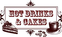 SPECIALITY TEAS, COFFEES, AND HOT CHOCOLATE DESSERTS, HOMEBAKED CAKES AND PASTRIES